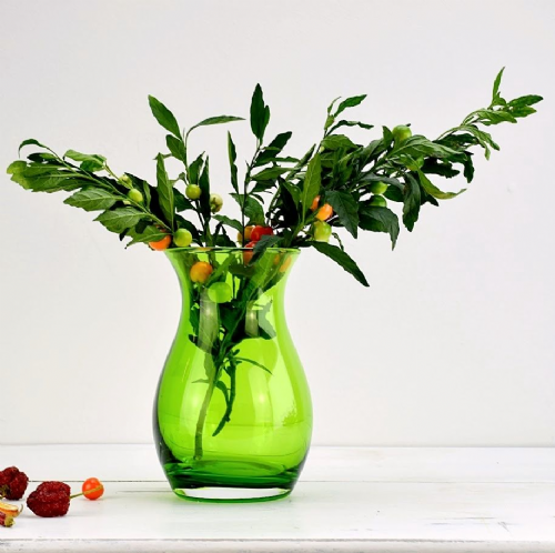 Posy Bud Vase Bottle Green
